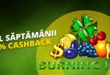 10 cashback saptamanal la fortuna casino