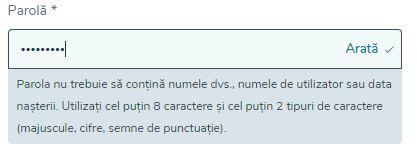 Vlad Cazino - parola