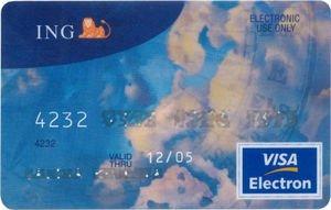 card visa ing