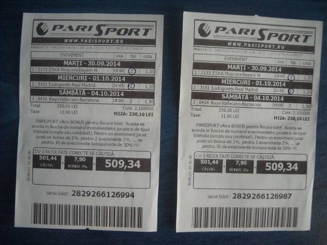 bilete castigate 04.10.2014