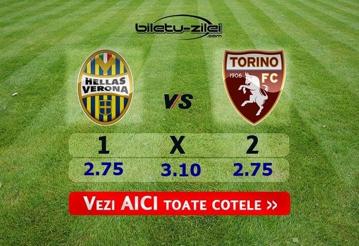 Ponturi pariuri Hellas Verona – Torino