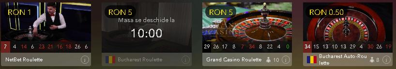netbet casino ruletă live