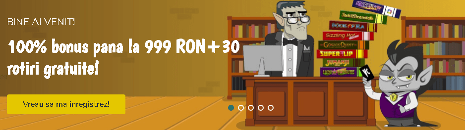 Vlad Cazino bonus 999 RON
