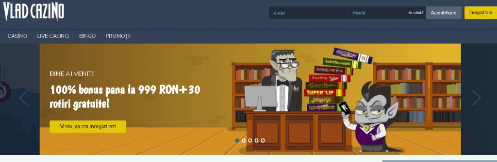 Vlad Cazino site oficial