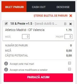 Atletico Madrid vs Valencia ponturi pariuri  - Spania LaLiga - 24 aprilie 2019 Ponturi pariuri