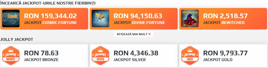 jocuri cu jackpot