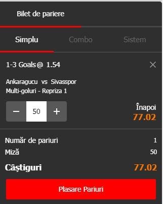 Ankaragucu vs Sivaspor ponturi pariuri - Turcia Super Lig - 20 mai 2019 Ponturi Fotbal Ponturi pariuri