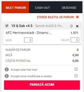 Hermannstadt vs Dinamo ponturi pariuri - Romania Liga 1 - 15 mai 2019 Ponturi pariuri Ponturi pariuri Romania Liga 1 Betano