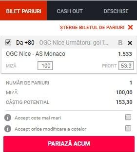 Nice vs Monaco ponturi pariuri - Franta Ligue 1 - 24 mai 2019 Ponturi Fotbal Franta - Ligue 1 Ponturi pariuri