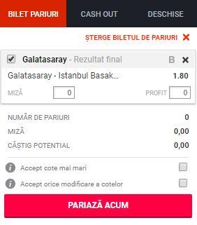 Galatasaray vs Istanbul BB ponturi pariuri - Turcia Super Lig - 19 mai 2019 Ponturi Fotbal Ponturi pariuri