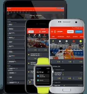 Betano pariuri app