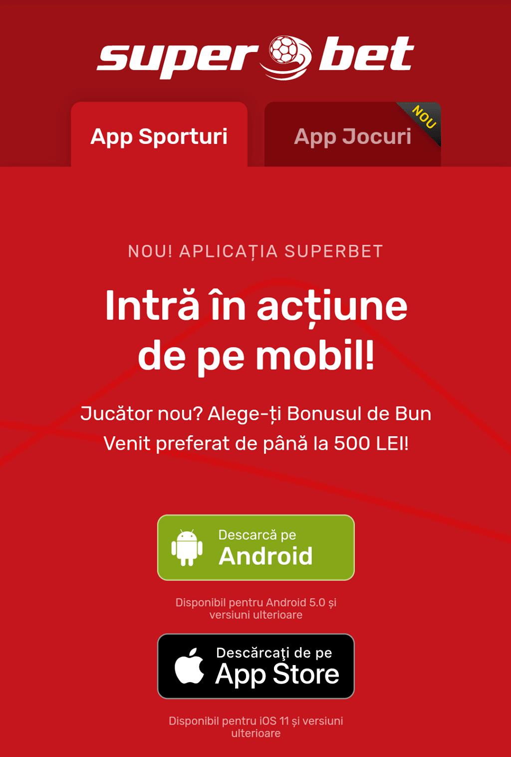 Superbet Android apk
