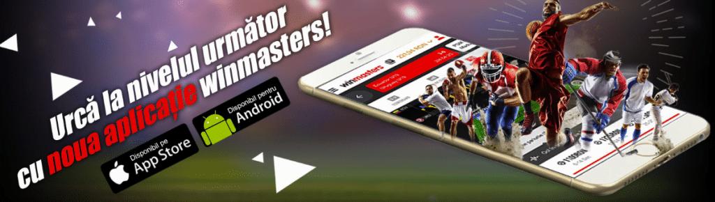 Winmasters pariuri app