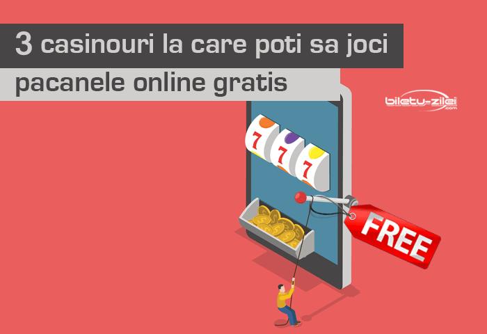 casinouri la care poți să joci păcănele online gratis