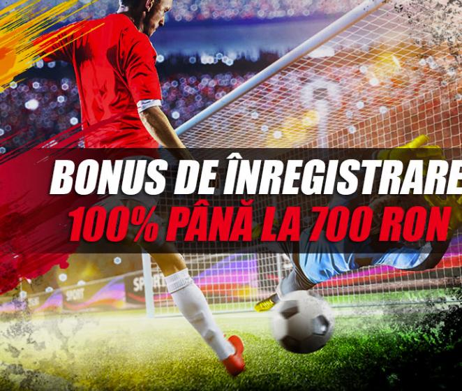 bonus 700 RON