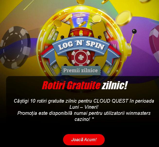 rotiri gratuite winmasters casino