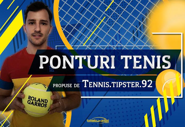Pronosticuri tenis propuse de Tennis.tipster.92