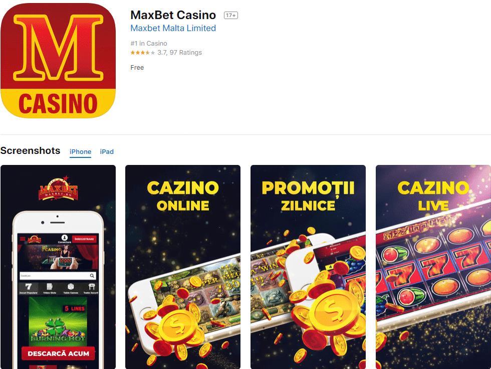 aplicația maxbet casino