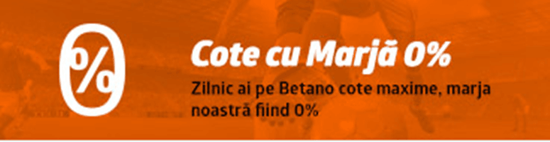 betano marjă 0%