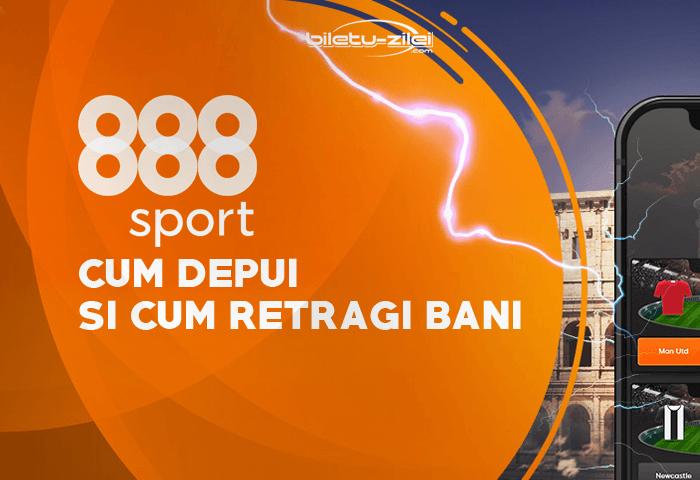 888Sport depunere minimă + retragere