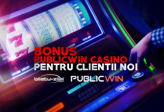 bonus publicwin casino pentru clienții noi