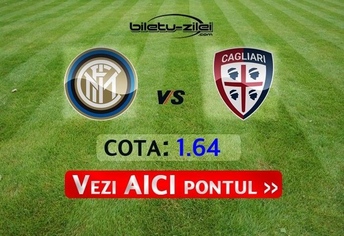 Inter - Cagliari ponturi pariuri 14.01.2020