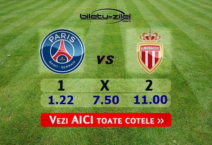 PSG – Monaco ponturi pariuri 12.01.2020