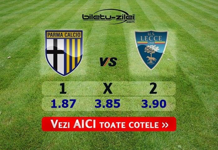 Parma – Lecce ponturi pariuri 13.01.2020