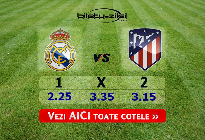 Real Madrid – Atletico Madrid ponturi pariuri 12.01.2020