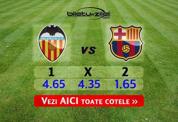 Valencia - Barcelona ponturi pariuri 25.01.2020