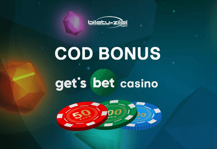 Cod bonus Get's Bet Casino