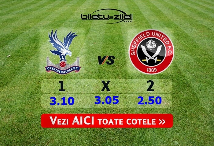 crystal palace - sheffield united
