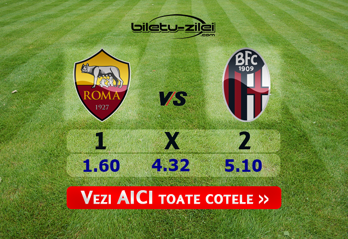 AS Roma – Bologna ponturi pariuri 07.02.2020