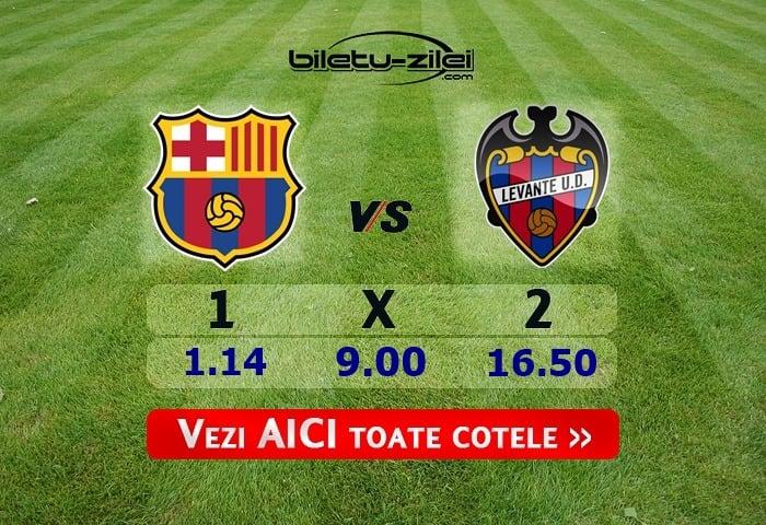 Barcelona – Levante ponturi pariuri 02.02.2020
