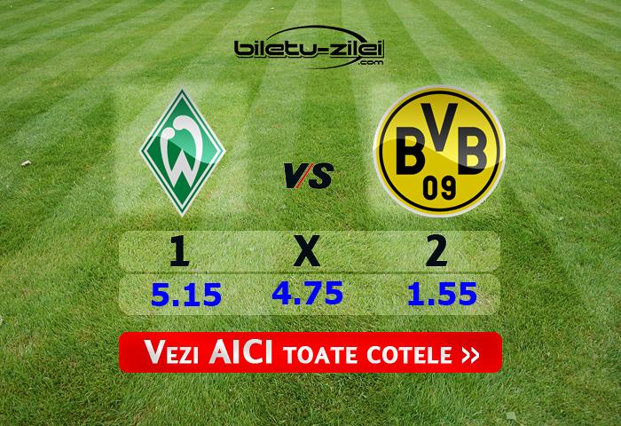 Bremen - Dortmund ponturi pariuri 04.02.2020