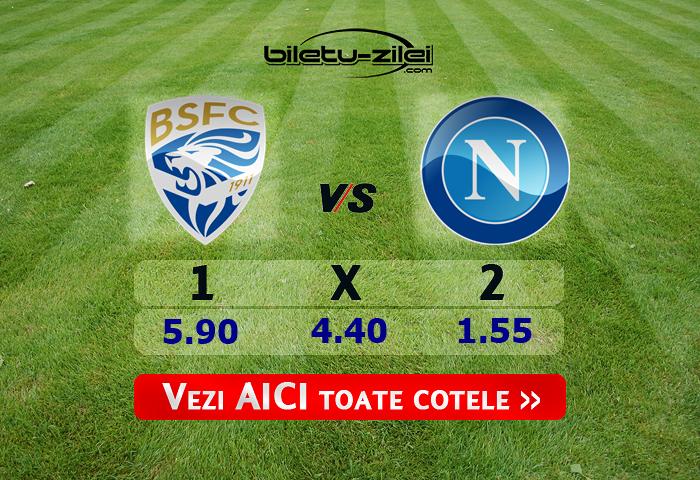 Brescia – Napoli ponturi pariuri 21.02.2020