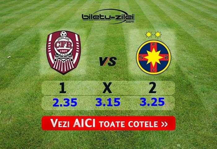 CFR Cluj - FCSB ponturi pariuri 02.02.2020