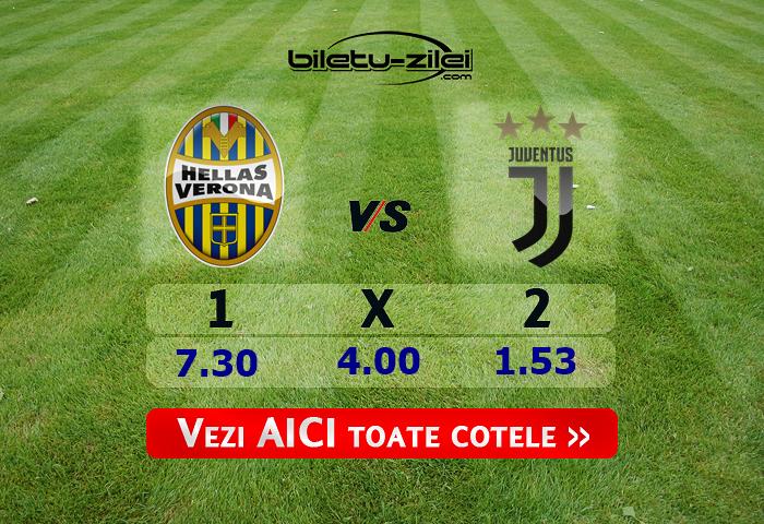 Hellas Verona – Juventus ponturi pariuri 08.02.2020
