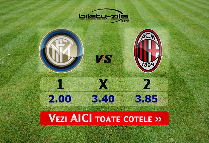 Inter – AC Milan ponturi pariuri 09.02.2020