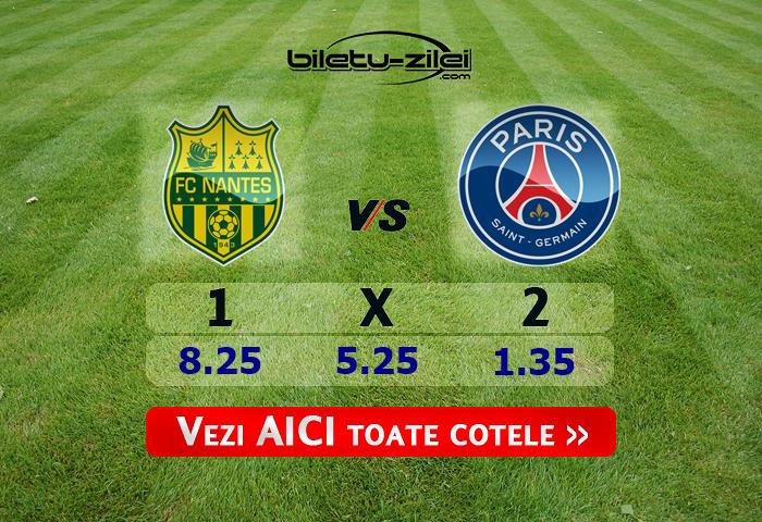 Nantes – PSG ponturi pariuri 04.02.2020