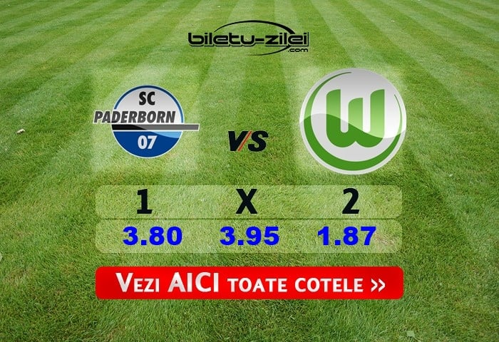 Paderborn - Wolfsburg ponturi pariuri