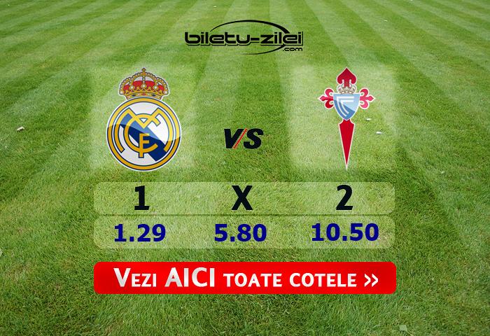 Real Madrid – Celta Vigo ponturi pariuri 16.02.2020