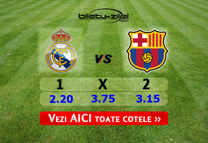 Real Madrid - Barcelona ponturi pariuri 01.03.2020