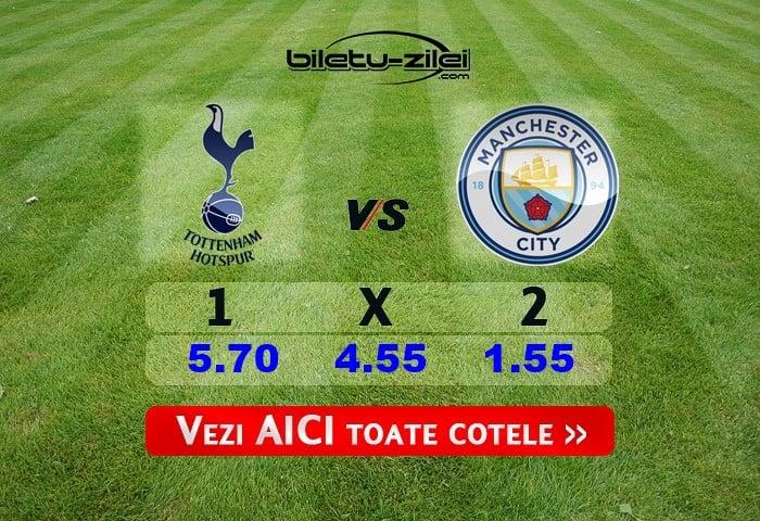 Tottenham - Manchester City ponturi pariuri