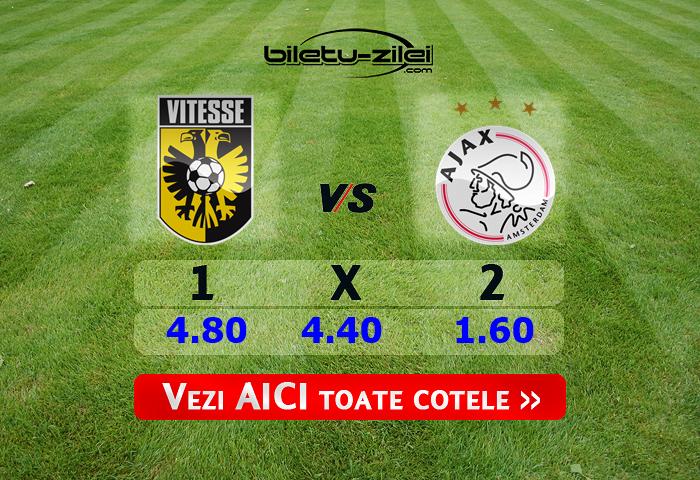 Vitesse - Ajax ponturi pariuri 12.02.2020
