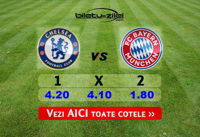 Chelsea - Bayern Munchen ponturi pariuri
