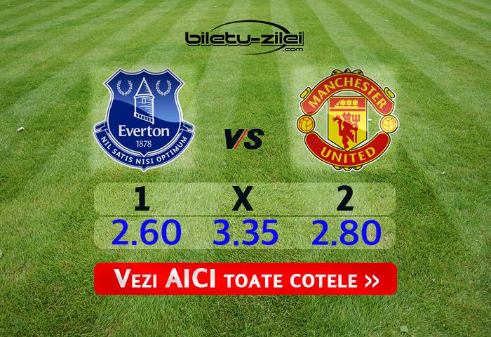 Everton - Manchester United ponturi pariuri 01.03.2020