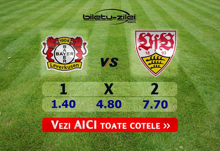 Leverkusen – Stuttgart ponturi pariuri 05.02.2020