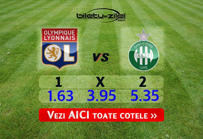 Lyon - St.Etienne ponturi pariuri 01.03.2020