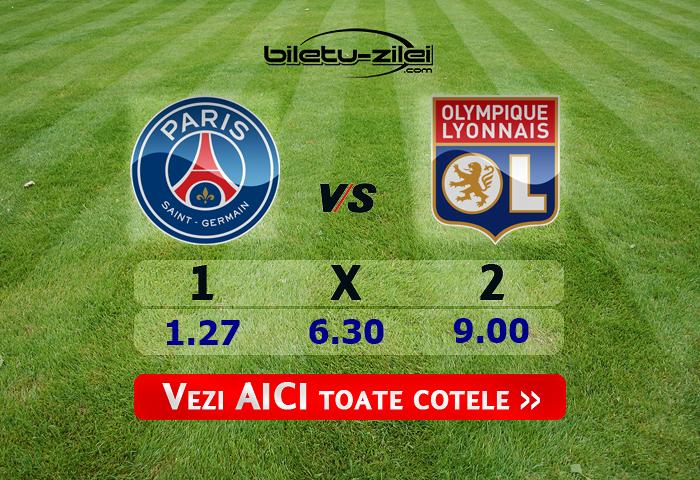 PSG – Lyon ponturi pariuri 09.02.2020
